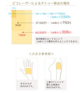 ルーチェ東京美容クリニック 池袋院の価格表